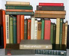 31 Various Coloured Hardback Books, Perfect for Display - Wedding Decoration,