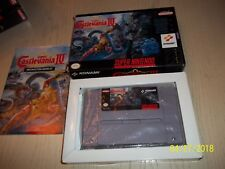 Super Castlevania IV (Super Nintendo Entertainment System, 1991) RARE COMPLETE