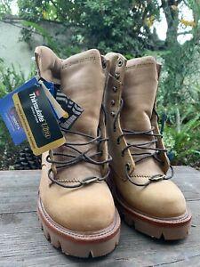 Chippewa Apache Logger Golden Tan Boot with Vibram Sole Size 6E