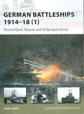 OSPREY NEW VANGUARD 164 WW1 GERMAN BATTLESHIPS DEUTSCHLAND NASSAU HELGOLAND CLAS