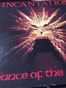 "Incantation – Dance Of The Flames (1983) 12"" vinyl LP gatefold + booklet"