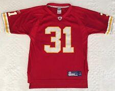 Kansas City Chiefs Priest Holmes #31 Reebok NFL Football Jersey Size Youth Large