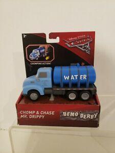 Disney Pixar's Cars 3 Chomp and Chase Mr. Drippy  Brand New 3+ 2016