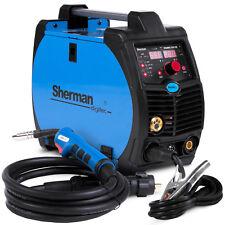 MIG Welder Inverter Welding Machine Portable SHERMAN DIGIMIG 200 Gasless No gas