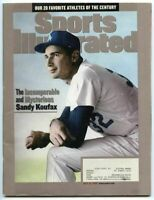 SI: Sports Illustrated July 12, 1999 Sandy Koufax, Baseball, Los Angeles Dodgers