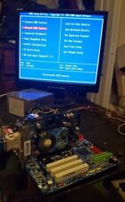 GIGABYTE GA-8I915PL-G MOTHER BOARD COMBO CPU,RAM,VIDEO WORKING PLS READ
