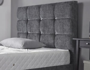"Bed Headboard 24"" Dozen Cubes KINGSIZE 