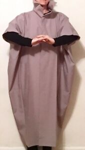 GRAY ISSEY MIYAKE COAT 132 5 LIGHTWEIGHT FALL HALF SLEEVES SIZE 3 FITS MOST