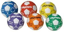 Olympia Colored Soccer Balls Six  Size 5 New