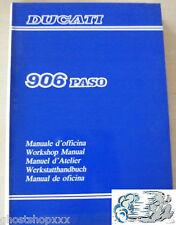 Manual D'Workshop Ducati 906 Paso