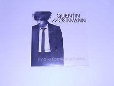 Quentin Mosimann - il y a je t aime et je t aime - cd single