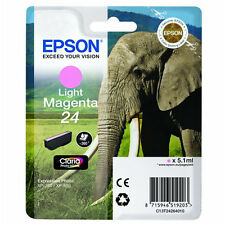 CARTOUCHE EPSON LIGHT MAGENTA 24 / elephant t24 expression photo t2426 xp-750