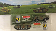 DIECAST ARMY MILITARY RESPONSE CAMOUFLAGE SET - toy tank & armoured vehicle etc