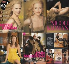 Schweizer Illustrierte Style Nicole Kidman,Kate Walsh,John Malkovoich