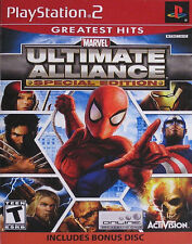 PS2 Marvel: Ultimate Alliance Special Edition Greatest Hits (Sony PlayStation 2,