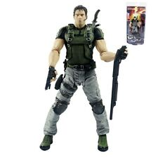"RESIDENT EVIL 5/ FIGURA CHRIS REDFIELD 18 CM/ ACTION FIGURE NECA 7"" IN BLISTER"
