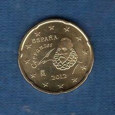 Espagne - 2012 - 20 centimes d'euro - Pièce neuve de rouleau -