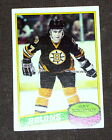 RAY BOURQUE Bruins 1980-81 O-Pee-Chee Rookie Card #140
