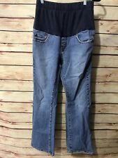 f24c03d2007eb Levi's Boot Cut Womens Size 8 Maternity Jeans Pants Belly Panel Med Wash  Comfort