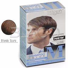 Dikson Shampoo Color M for Man Uomo Capelli grigi bianchi colore Biondo scuro