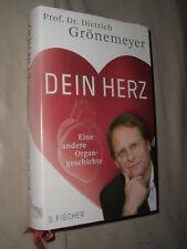 Dietrich Grönemeyer: Dein Herz (Gebundene Ausgabe)