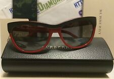 Burberry Sunglasses Black & Red pattern BE4176 3459/11 56-16 140 2N BRAND NEW!