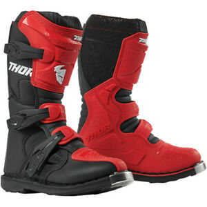 Thor Youth Blitz XP Off road Motocross Boot Red / Black