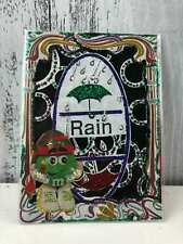 Hand Made M&M ACEO Trading Cards Original Art Scrapbook Sticker Limited edition