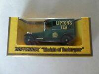 MATCHBOX Y5-4 1927 TALBOT VAN; LIPTON'S TEA BY ROYAL APPOINTMENT NEW SHOP STOCK