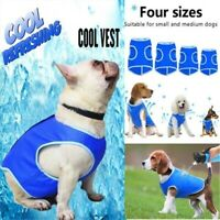 Pet Dog Sommer Kühlweste Harness Evaporative Breathable Cooling Coat