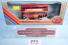EFE 1:76 15639 RM ROUTEMASTER TRANSPORT LONDON 'ARRIVA ROUTE 38' BUS BOXED #771W