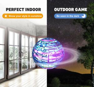 Pro Flying Ball Space Orb Magic Mini Drone UFO Boomerang Boy Girl Toy Gifts UK