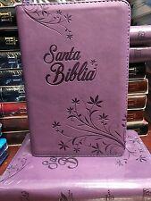 Bíblia Reina Valera Cierre Índice Letra Grande Morada TAMAÑO MANUAL 12 puntos