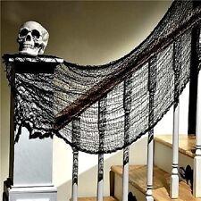 👻BLACK CREEPY CLOTH HALLOWEEN Decoration Spooky Scary Door Window Party Prop👻