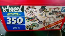 K' NEX,   350  BUILDING CONSTRUCTION  SET.