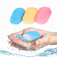 Travel Hand Confetti Soap Paper Laundry Washing Wash Packet Sheets 20 Pcs