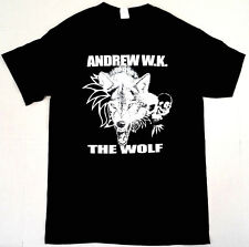 ANDREW W.K. The WOLF T-shirt Licensed Tee Mens SMALL New