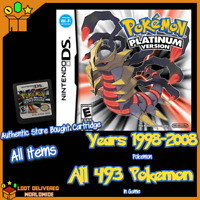 Pokemon Platinum Unlocked All 493 Pokemon Enhanced 3ds and Nintendo DS