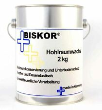 Biskor Hohlraumwachs 2kg Korrosionsschutzwachs Heißwachs restaurierte/Neuwagen