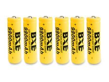 18650 6PCS BXE Battery 9800mAh Li-ion 3.7V Rechargeable Batteries Ship from USA