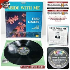 "FRED LOWERY - The Blind Whistler ""Abide With Me"" Obscure Xian WORD IN SHRINK! LP"