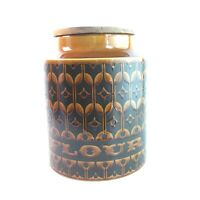 Vintage Hornsea Pottery Heirloom Flour Storage Jar Pot Large