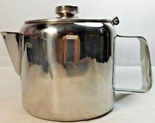 Sunnex Large Stainless Steel Teapot Catering Restaurant Tea Pot 70oz 2.0L