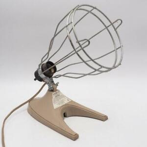 Vintage General Electric Infrared Heat Lamp Edision Rustic Industrial Art Deco
