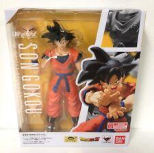 GENUINE BANDAI Dragon Ball Z S.H.Figuarts Son GOKU Gokou Saiyan Raised on Earth