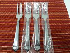 New Oneida Stainless Flatware EAVE Set of 4 Dinner Forks