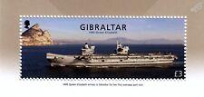 HMS QUEEN ELIZABETH R08 Royal Navy Aircraft Carrier Warship Stamp/2018 Gibraltar