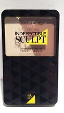 Palette Contouring Highlight Infaillible Sculpt 03 Medium A Dark L'Oréal