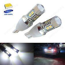 2x W16W T15 LED Ampoules  10W Blanc Xenon Feux de Recul Arrière Lampe 12V