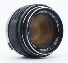OLYMPUS OM ZUIKO MC 50mm F/1.4 MANUAL FOCUS LENS FOR 35mm FILM CAMERAS
